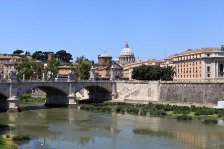 Bridge across the Tiber