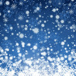 Wiinter background with snowflakes elements. Fully...