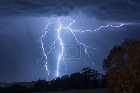 Electrical Storm in Australia - Barossa Valley...