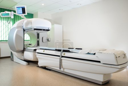 Equipment in oncology department. Nuclear Medicine
