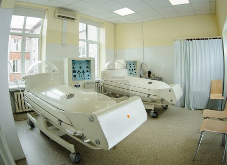 Pressure chamber in hospital
