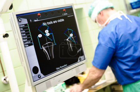 Orthopaedic equipment navigation system