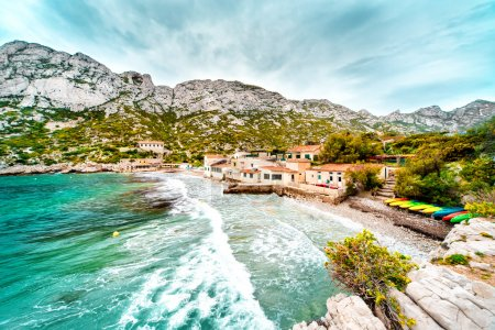 Beautiful landscape of Calanque de Sormiou. South France