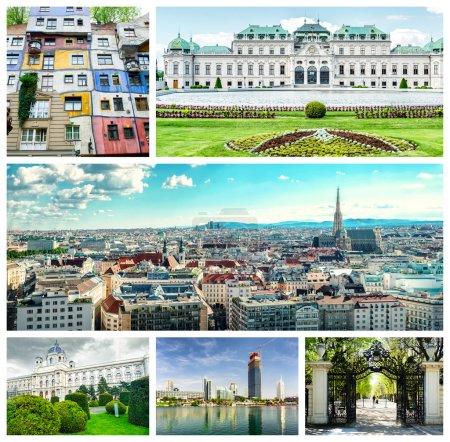 Collage of Vienna