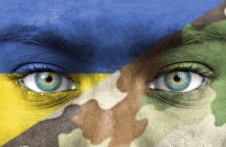 Photo pour Soldat d'Ukraine - image libre de droit