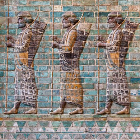 Солдаты Ахеменидов