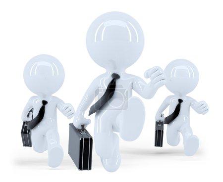 Running business team