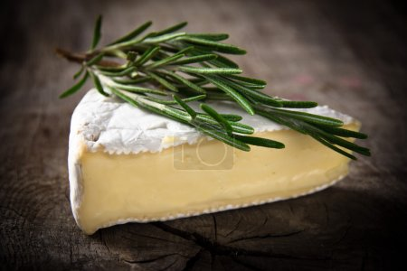 Brie Cheese on wood...