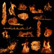 The biggest fire flame collection...