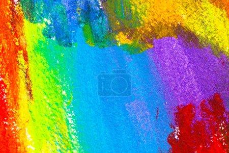 Photo pour Abstrait acrylique peint à la main fond - image libre de droit