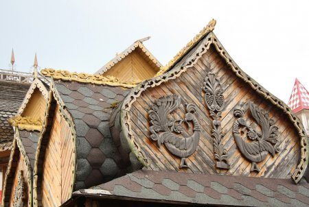 Decorative element of Traditional Russian architecture