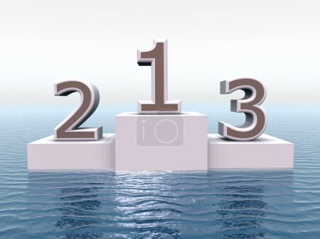Photo for Computer generated 3D illustration - Royalty Free Image