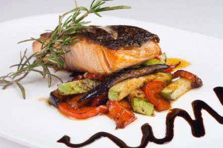 Photo for Grilled Fish - Royalty Free Image