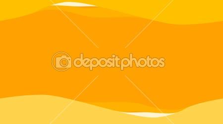 Oranžové vlny pozadí. opakování