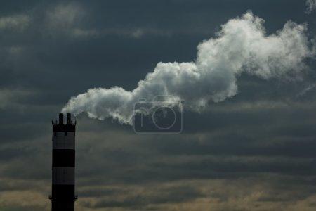 Pollution. Closeup shot