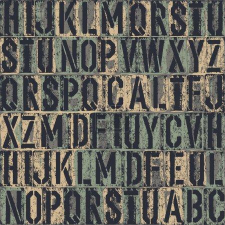 arrière-plan transparent de typographie. vecteur, eps8