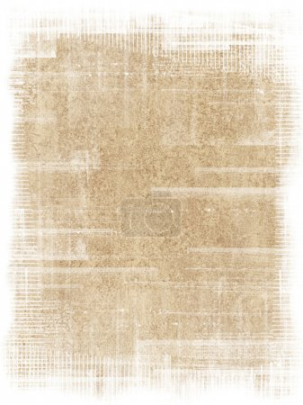 Photo for Old antique texture with grunge frame - Royalty Free Image