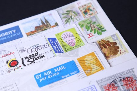 Stamps different countries