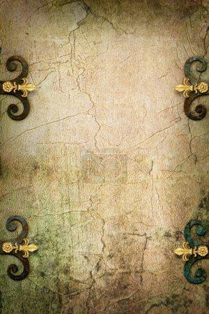 Stone Gothic fantasy medieval background