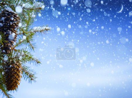 Foto de Fondo de Navidad - Imagen libre de derechos