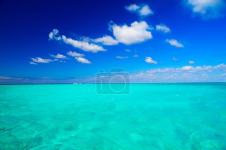 Abstract beautiful beach and tropical sea
