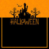 Halloween background this illustration may be useful as designer work