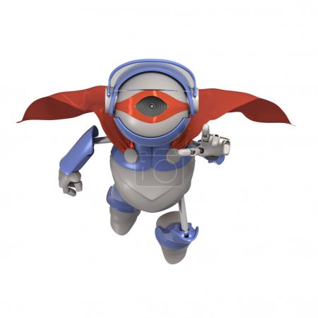 Robot superhero