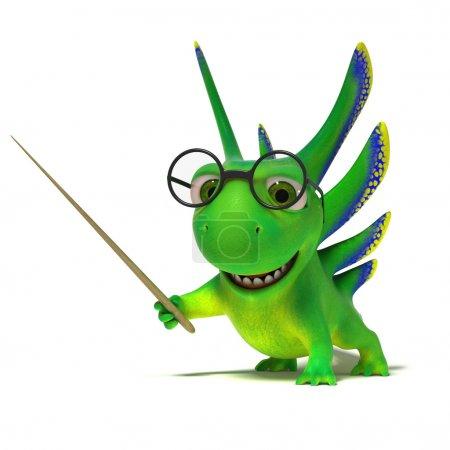 Lizard teacher