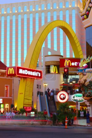 McDonalds Las Vegas Strip