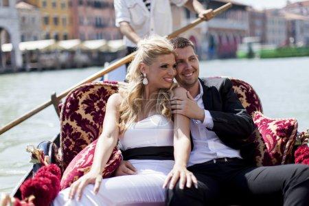 Couple in Venice, Italy