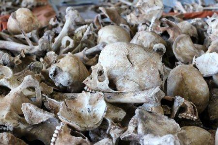 Photo pour Site commémoratif Nyanza au Rwanda - image libre de droit