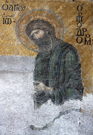 St John the Baptist from Hagia Sophia