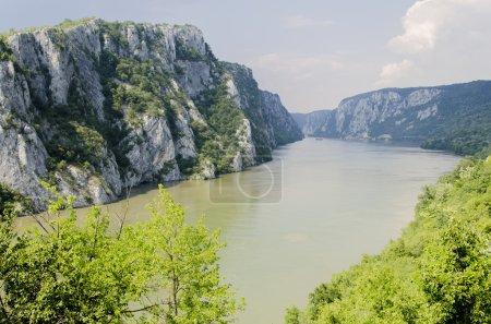 Photo pour Gorge du Danube - image libre de droit