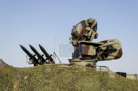 Sistema de misiles antiaéreos