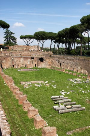 Photo for Palatine Hill in Rome - Royalty Free Image