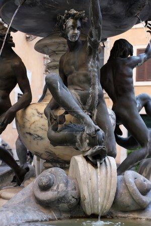 Fontana delle Tartarughe in Rome