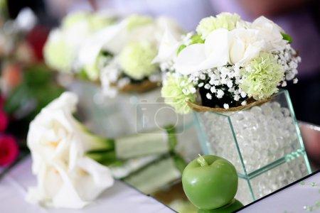 Photo pour Décoration de mariage - image libre de droit
