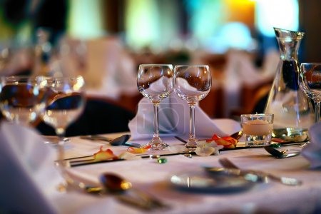 Photo for Wedding restaurant - Royalty Free Image