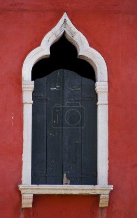 Photo pour Fenêtre de Venise, Italie - image libre de droit