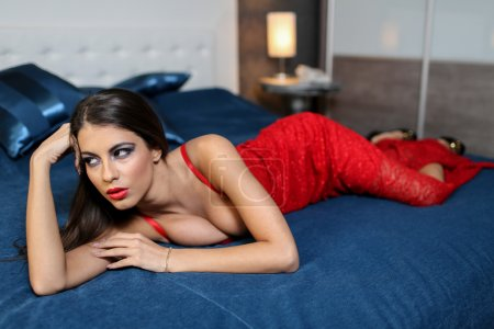 Photo for Pretty young woman - Royalty Free Image