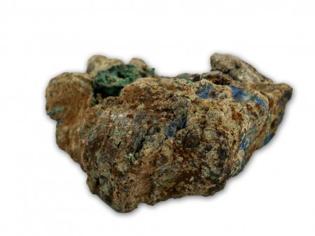 Malachite and azurite minerals
