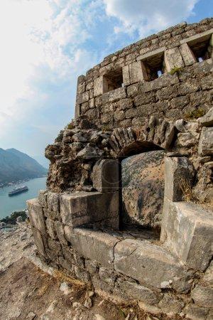 Saint John fortress in Kotor, Montenegro