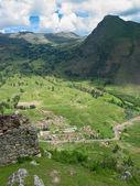 Sacred valley of Incas in Peru