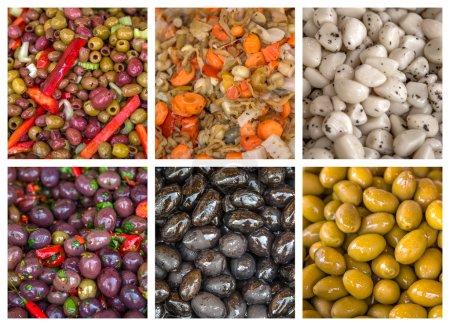 Photo pour Diverses salades fraîches - image libre de droit