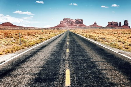 Photo for Long road to Monument Valley, USA - Royalty Free Image