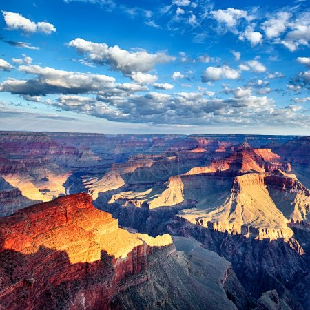 Photo for View of breathtaking Grand Canyon at sunrise, USA - Royalty Free Image