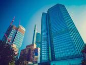 Retro meg az Európai Központi Bank Frankfurtban