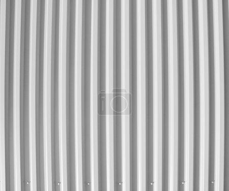 Photo pour Plaque d'acier vintage noire et blanche utile comme fond - image libre de droit