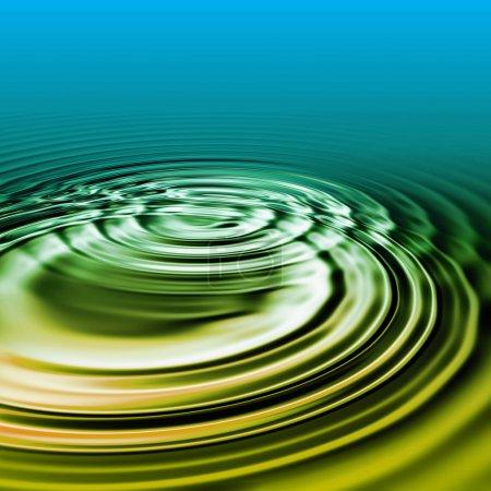 Wellenschlag im Wasser