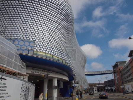 Bullring shopping and leisure complex in Birmingham